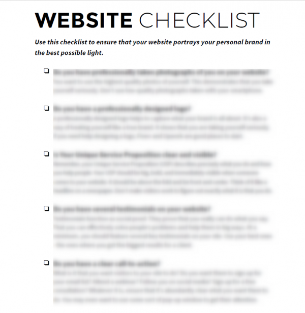 cherry-loudon-website-checklist